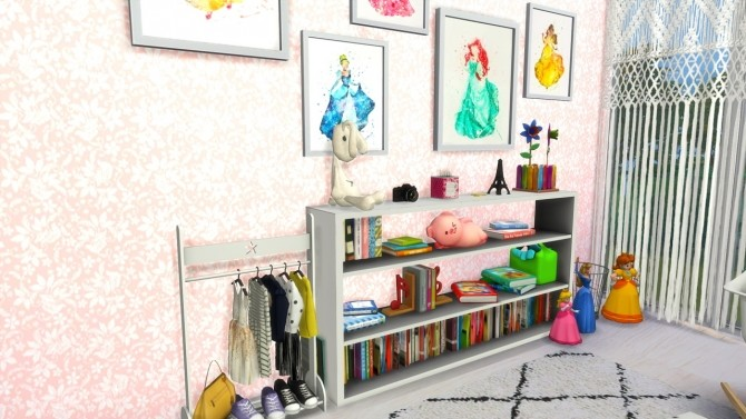 Sims 4 Girls Room Beach House at MODELSIMS4