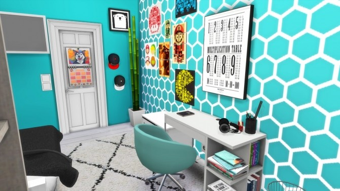 Sims 4 Boys Room Beach House at MODELSIMS4