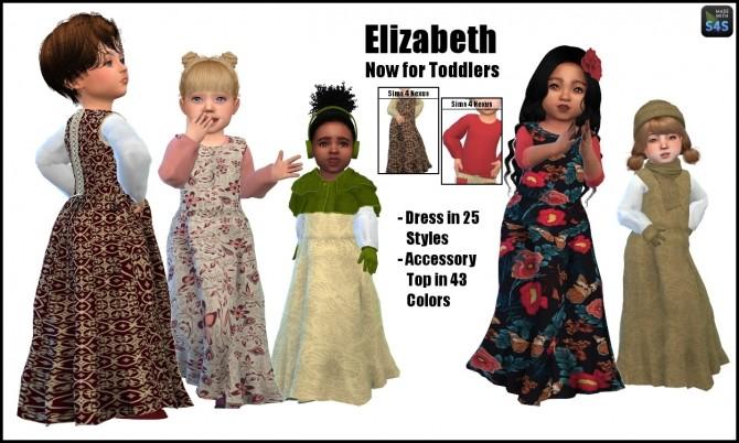 Elizabeth dress and acc shirt by SamanthaGump at Sims 4 Nexus image 180 670x402 Sims 4 Updates