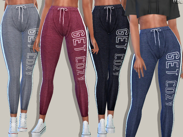 Athletic Pants by Pinkzombiecupcakes at TSR image 1825 Sims 4 Updates