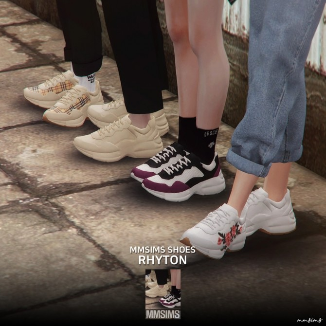 Rhyton sneakers at MMSIMS image 18310 670x670 Sims 4 Updates