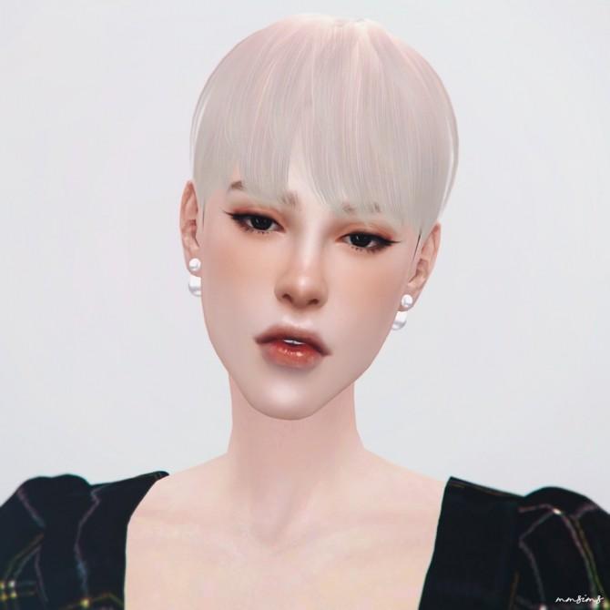 Sims 4 AMF Hair 19 Holiday at MMSIMS