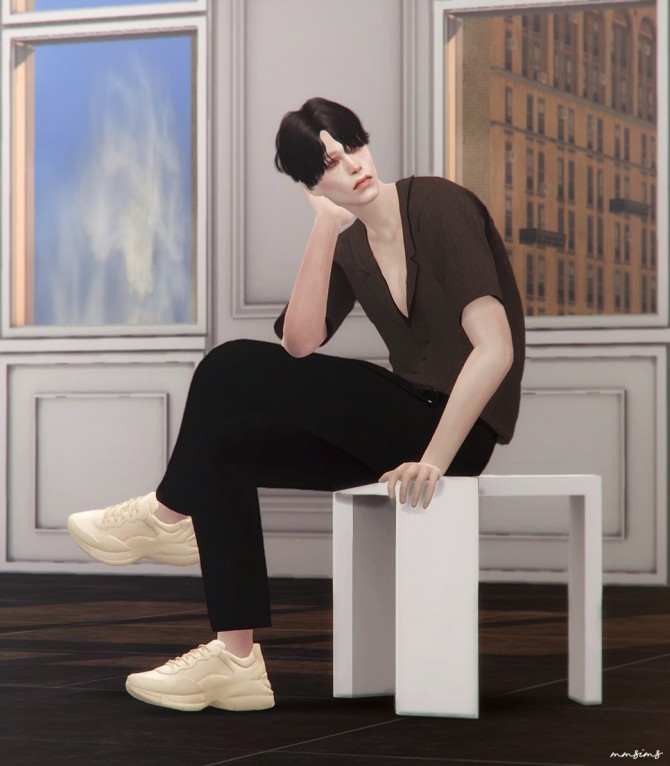 Rhyton sneakers at MMSIMS image 1865 670x766 Sims 4 Updates