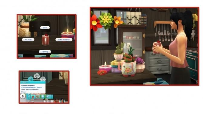 Sims 4 RASPBERRY SORBET at Icemunmun