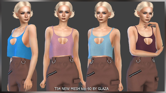 Sims 4 Top 60 at All by Glaza