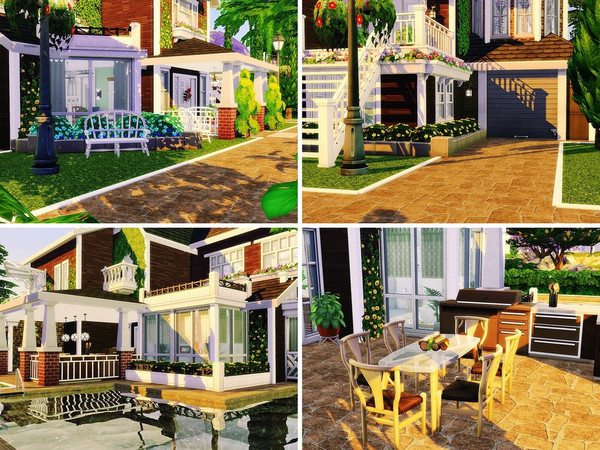 Sims 4 Family Paradise by MychQQQ at TSR