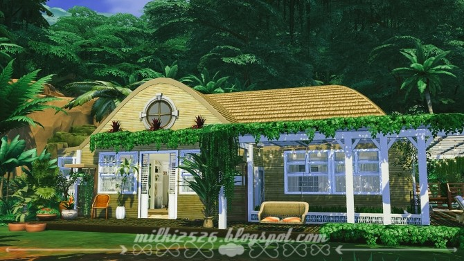 Jungle Bungalow for two at Milki2526 image 1971 670x377 Sims 4 Updates