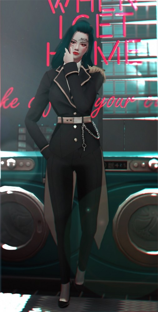 Chelsea Uniform Set at SHENDORI SIMS image 1982 506x1000 Sims 4 Updates