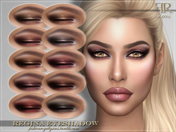 Sims 4 FRS Regina Eyeshadow by FashionRoyaltySims at TSR
