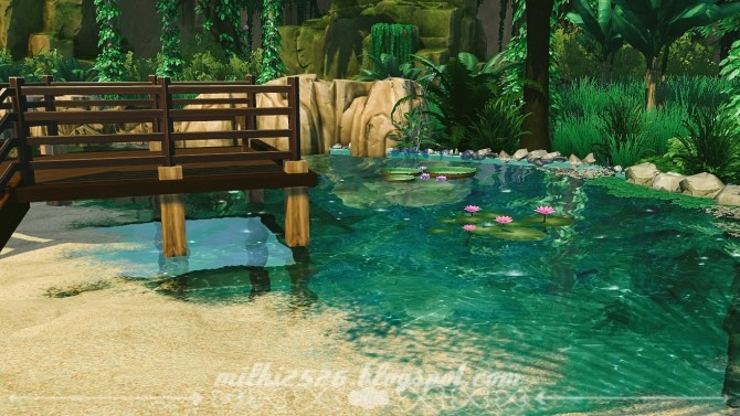 Jungle Bungalow for two at Milki2526 image 2011 670x377 Sims 4 Updates