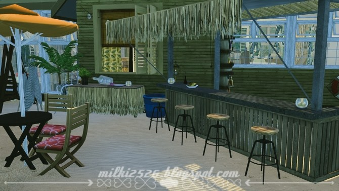 Jungle Bungalow for two at Milki2526 image 2021 670x377 Sims 4 Updates