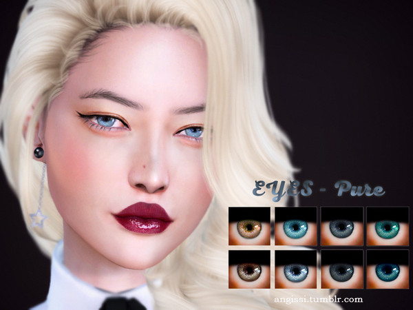 EYES Pure by ANGISSI at TSR image 2030 Sims 4 Updates