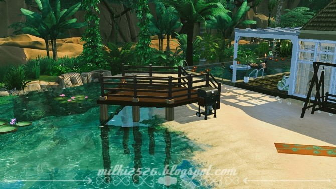 Jungle Bungalow for two at Milki2526 image 2031 670x377 Sims 4 Updates