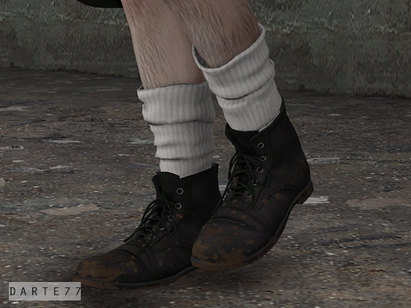 Sims 4 Chunky Socks at Darte77