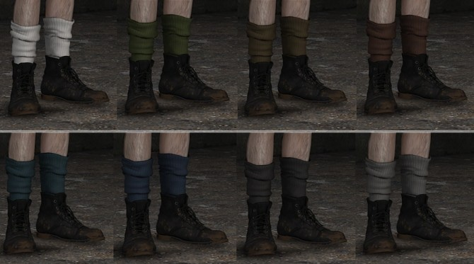 Chunky Socks at Darte77 image 2042 670x373 Sims 4 Updates
