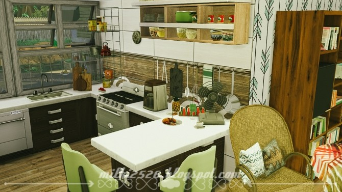 Jungle Bungalow for two at Milki2526 image 205 670x377 Sims 4 Updates