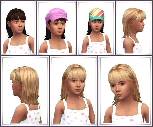 Sims 4 Girl MCP Hair at Birksches Sims Blog