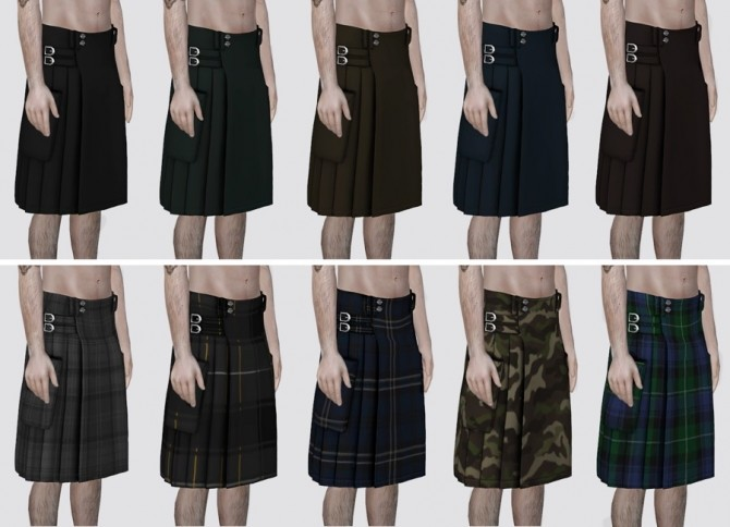 Kilt at Darte77 image 2061 670x484 Sims 4 Updates