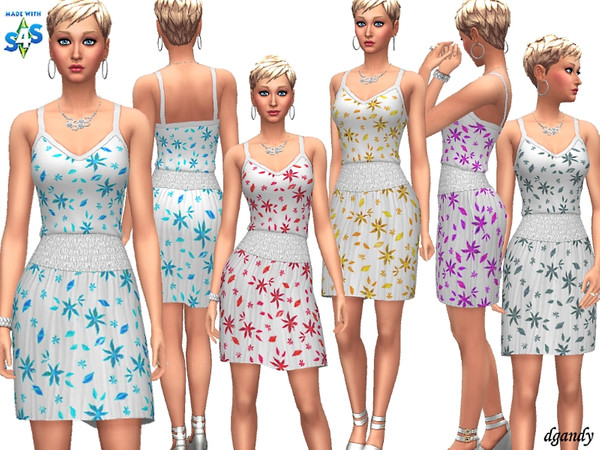 Sims 4 Dress 201902 04 by dgandy at TSR
