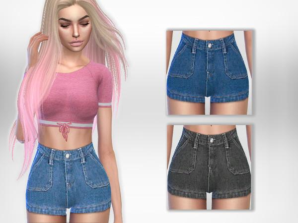 Sims 4 Lyn Shorts by Puresim at TSR