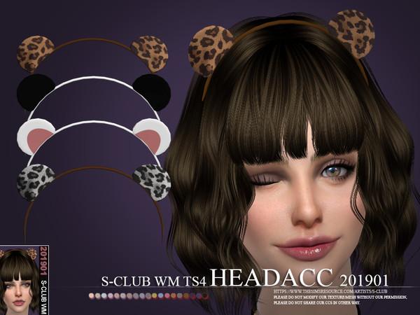Sims 4 Headacc 201901 by S Club WM at TSR