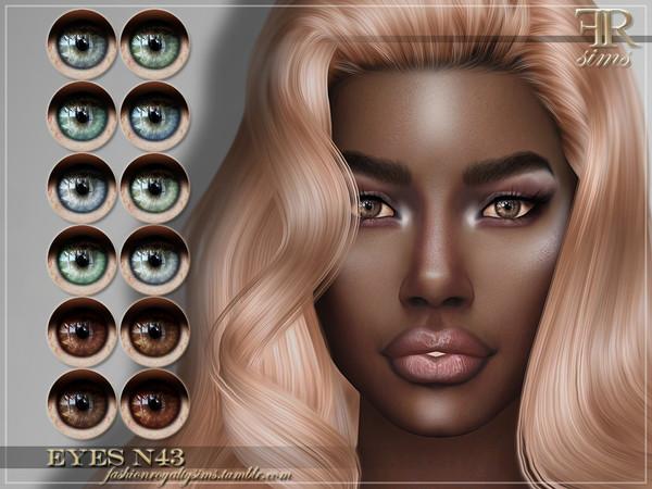 Sims 4 FRS Eyes N43 by FashionRoyaltySims at TSR