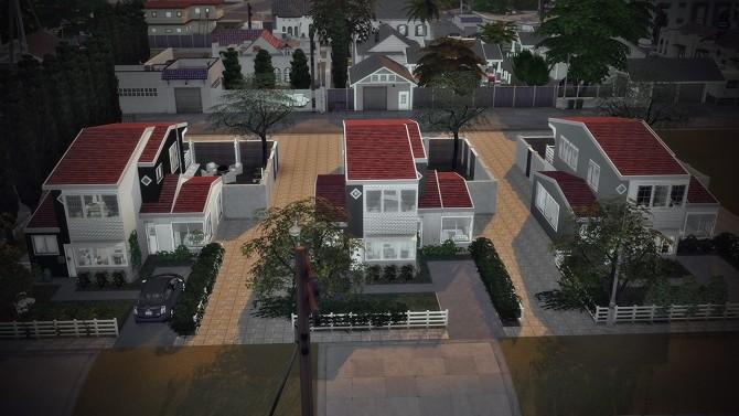 08 SUBURBAN ROW at SoulSisterSims image 2222 670x377 Sims 4 Updates