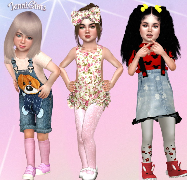 Sets Socks Conversions ballerina Toddlers at Jenni Sims image 2274 Sims 4 Updates