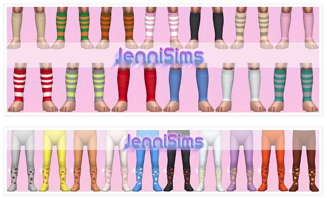 Sets Socks Conversions ballerina Toddlers at Jenni Sims image 2294 670x405 Sims 4 Updates