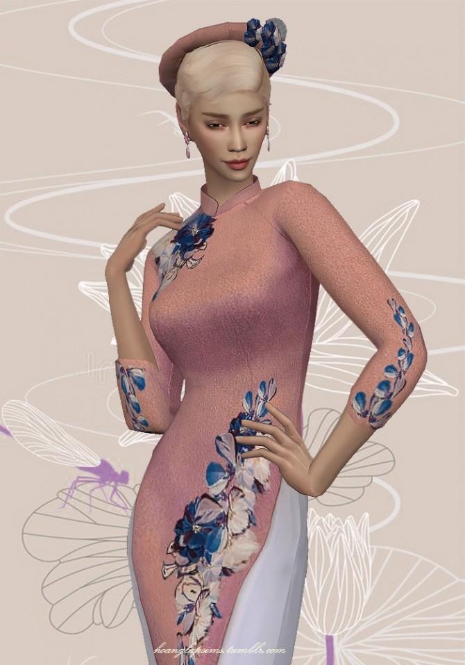 Vietnamese traditional clothes (Ao Dai) at HoangLap's Sims image 2301 670x957 Sims 4 Updates