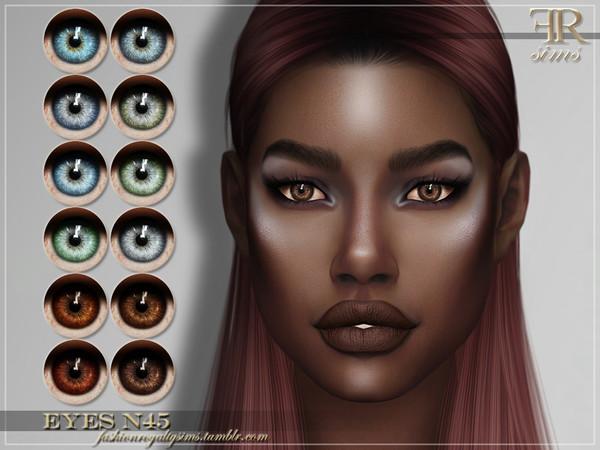 Sims 4 FRS Eyes N45 by FashionRoyaltySims at TSR