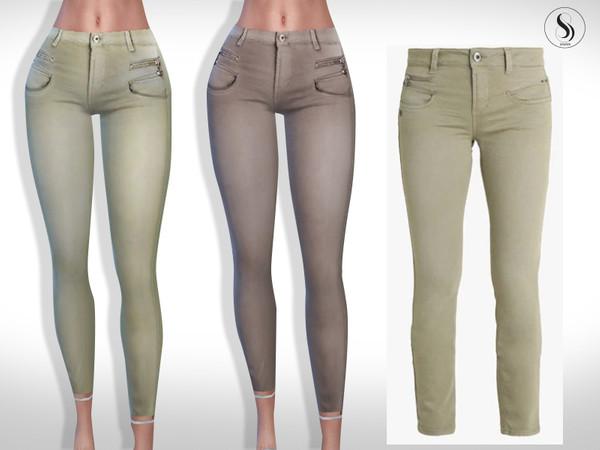Sims 4 Alexa Trousers by Saliwa at TSR