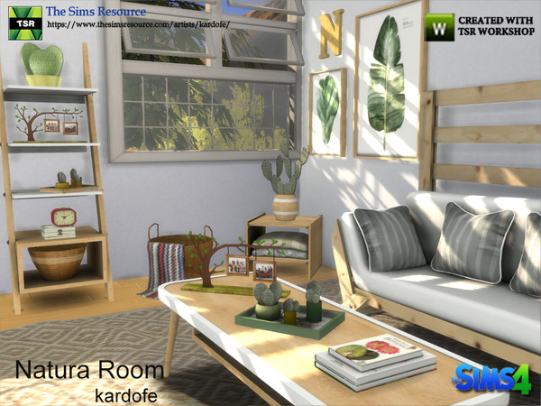 Sims 4 Natura Room by kardofe at TSR