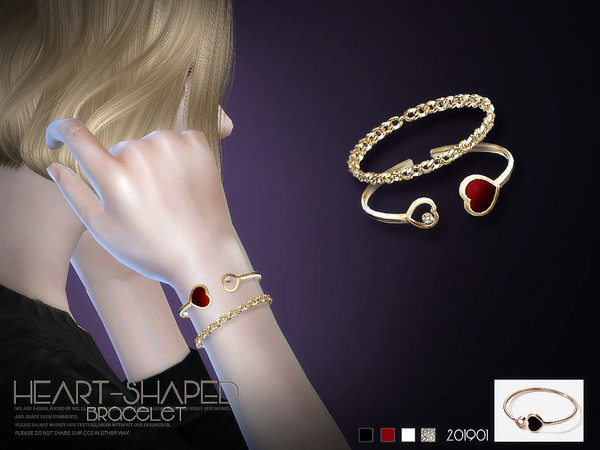 Bracelet 201901 by S Club LL at TSR image 242 Sims 4 Updates