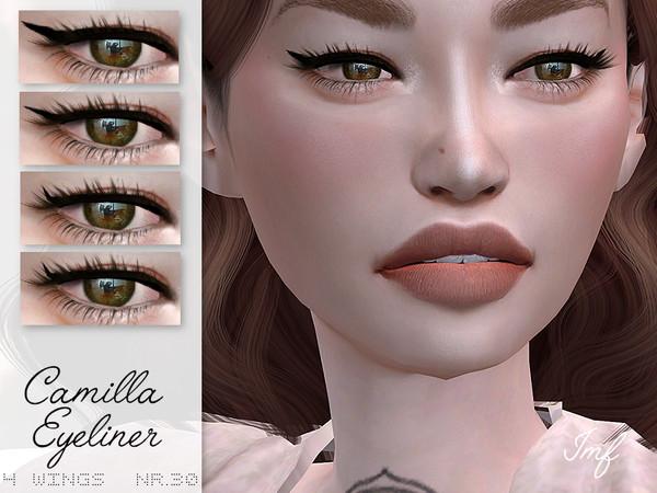 Sims 4 IMF Camilla Eyeliner N.30 by IzzieMcFire at TSR