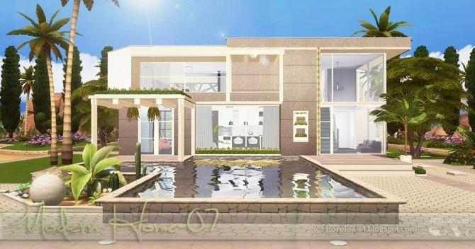 Modern Home 07 at Lorelea image 2483 670x352 Sims 4 Updates