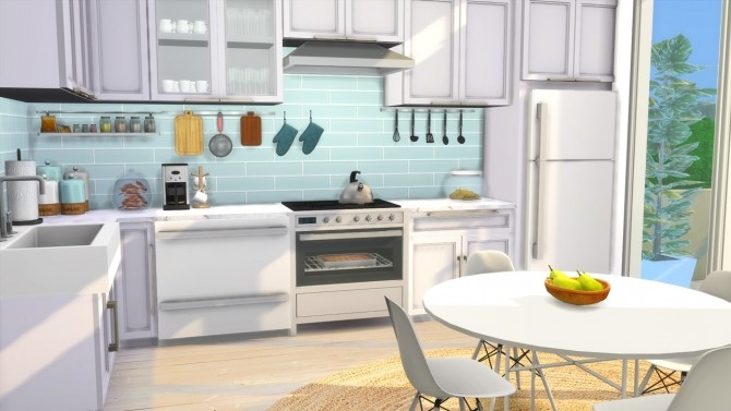 Kitchen - Beach House at MODELSIMS4 » Sims 4 Updates