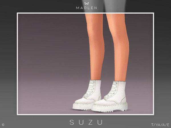 Sims 4 Madlen Suzu Boots by MJ95 at TSR