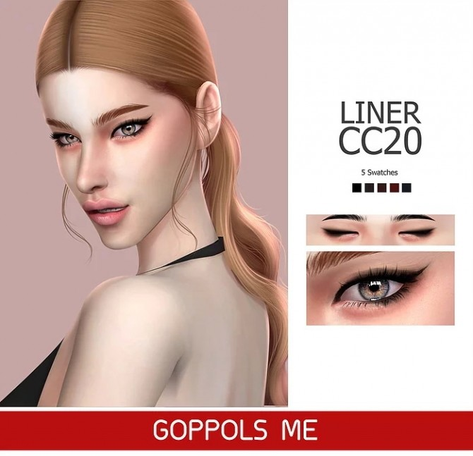 Sims 4 GPME Liner cc20 at GOPPOLS Me