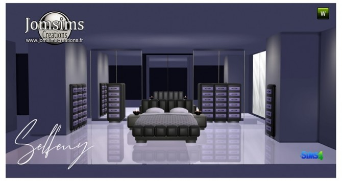 Selfeny bedroom at Jomsims Creations image 2622 670x355 Sims 4 Updates