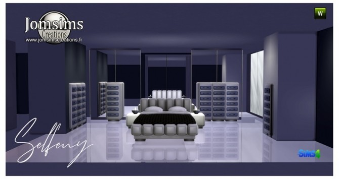 Selfeny bedroom at Jomsims Creations image 2631 670x355 Sims 4 Updates