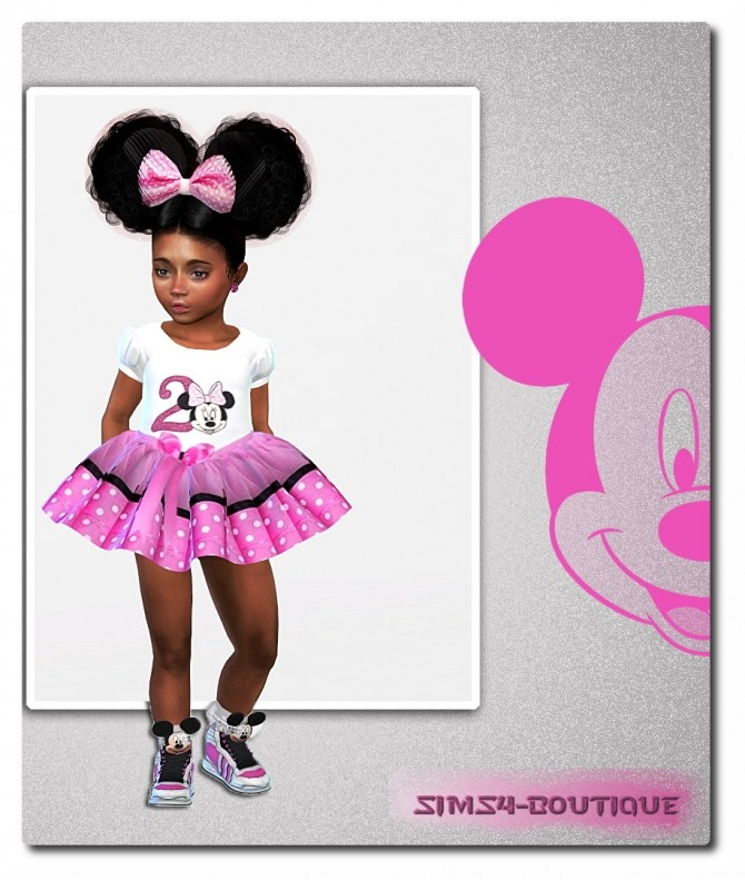Sims 4 Birthday dresses for Toddler Girls at Sims4 Boutique