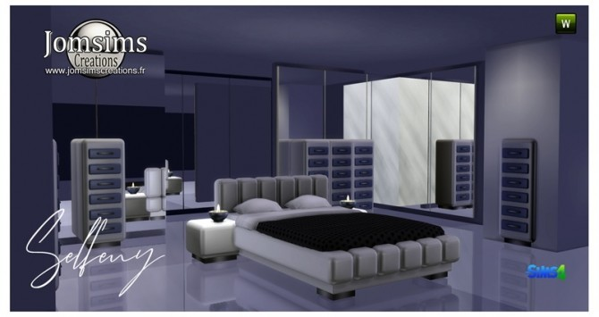 Selfeny bedroom at Jomsims Creations image 269 670x355 Sims 4 Updates