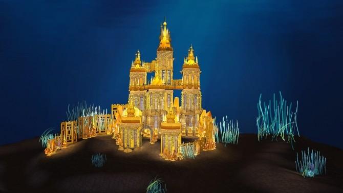 Ariel Underwater Castle at Akai Sims – kaibellvert image 2691 670x377 Sims 4 Updates