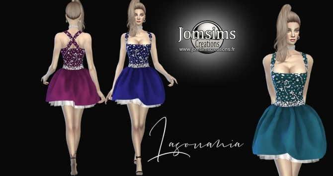 lasouania  dress at Jomsims Creations image 270 670x355 Sims 4 Updates