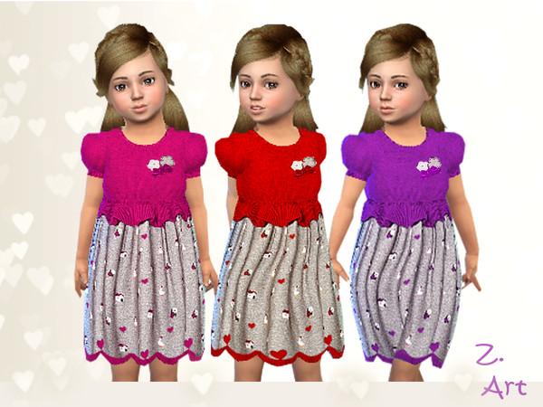 Sims 4 BabeZ 55 soft wool dress by Zuckerschnute20 at TSR