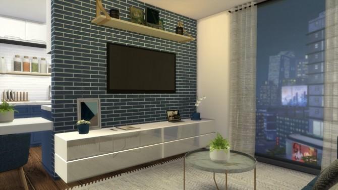 Sims 4 STUDIO APARTMENT at Dinha Gamer