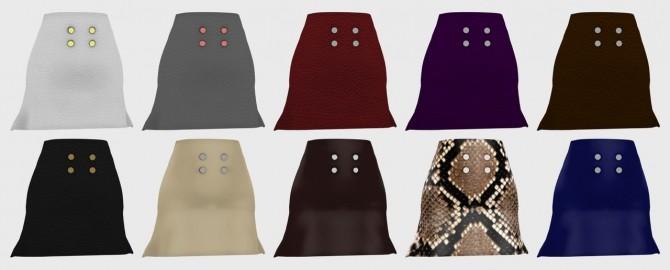 Jumper and leather skirt at Nyuska image 2931 670x270 Sims 4 Updates