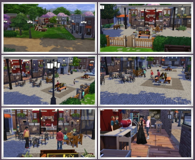 Street Cafe Willow Creek at Birksches Sims Blog image 2951 Sims 4 Updates
