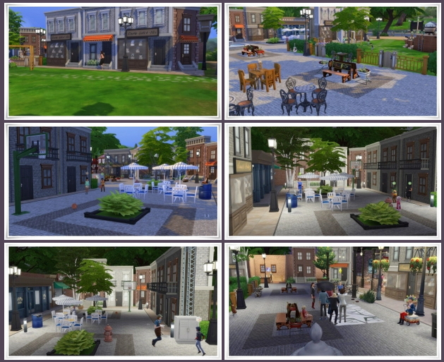 Street Cafe Willow Creek at Birksches Sims Blog image 2961 Sims 4 Updates